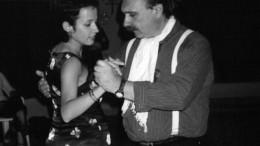 Juan Peyrelongue, clases de Tango