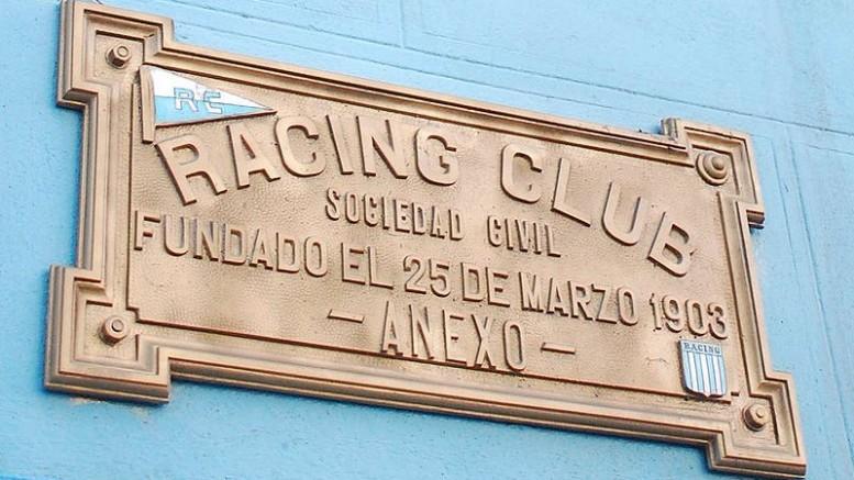 sede de Racing de Villa del Parque