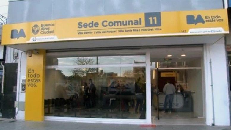 sede comunal 11, Avenida Beiró