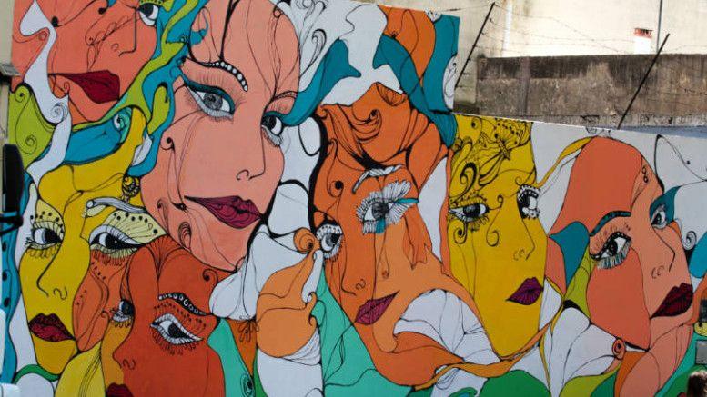 "Mural ""Miradas"", Juan Agustín García 2551"