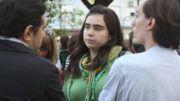 Delfina Velázquez, comunera a cargo del área de Educación y juventud