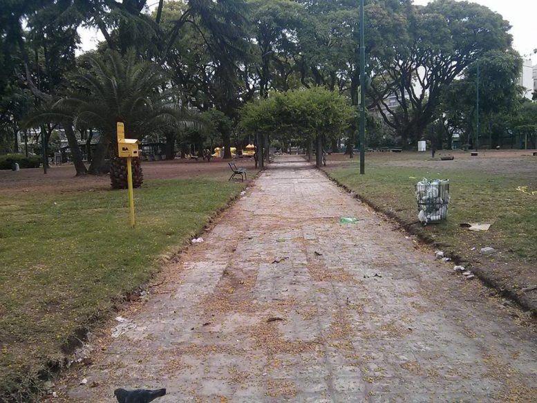 Plaza de Villa del Parque