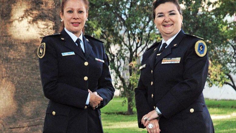 A la derecha Susana Aveni