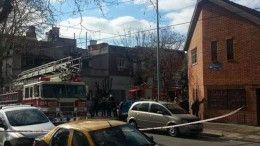 Incendio en Villa del Parque, Terrero al 3200