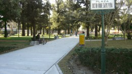 Plaza Dr. Roque Sáenz Peña