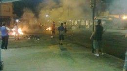 Corte en Beiro y Bermúdez. Vecinos reclaman por falta de luz