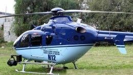 Helicóptero H12 de la Policía Federal