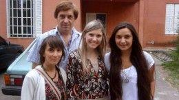 Daniel Salamone, Natalia Canel, Inés Hiriart y Romina Bevacqua