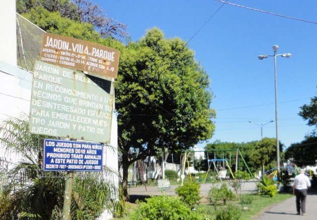 Jardín de Villa del Parque