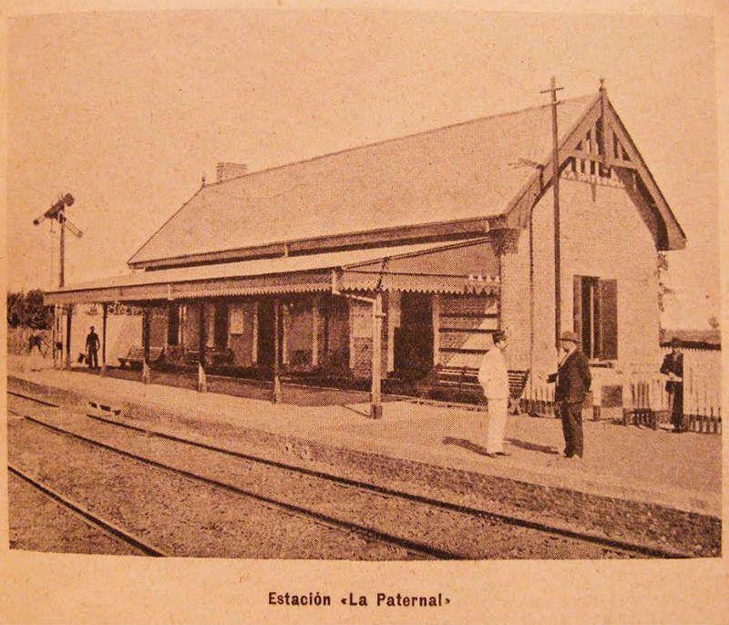 Viejas estacion de La Paternal