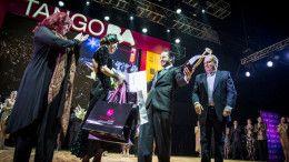 Ezequiel Jesús López y Camila Alegre campeones mundiales de Tango Escenario