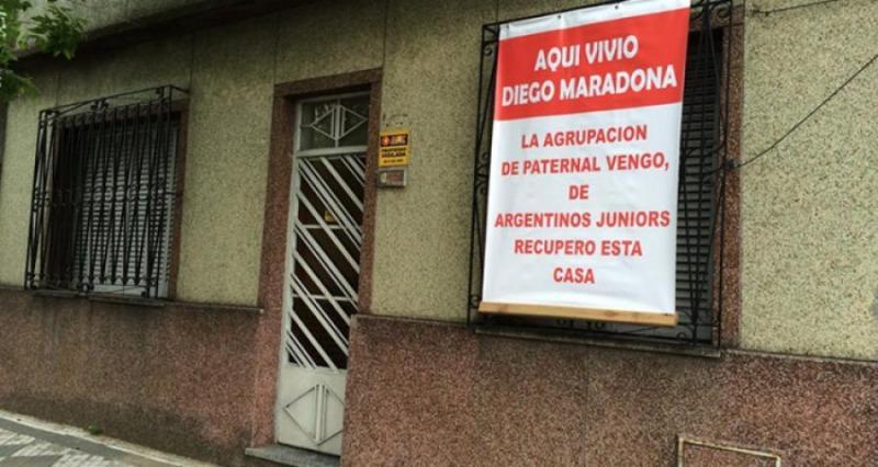 Casa donde vivió Diego Maradona, Lascano 2257