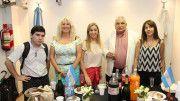 Maximiliano Alles, Graciela Valdez, Carolina Maccione, Carlos Guzzini y Marta Liotto.