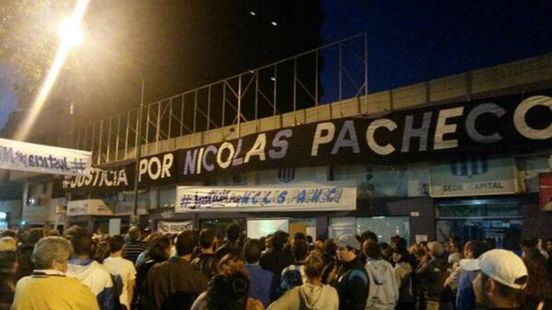 Justicia por Nicolás Pacheco