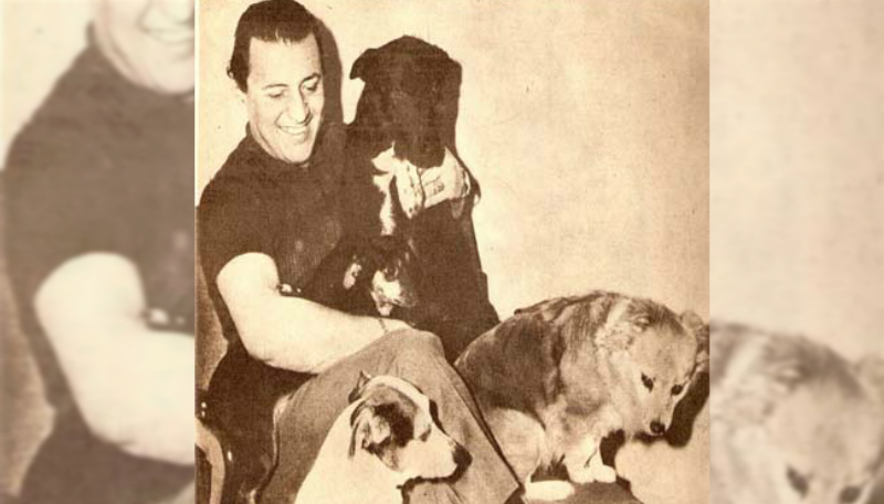 Julio Sosa y sus perros