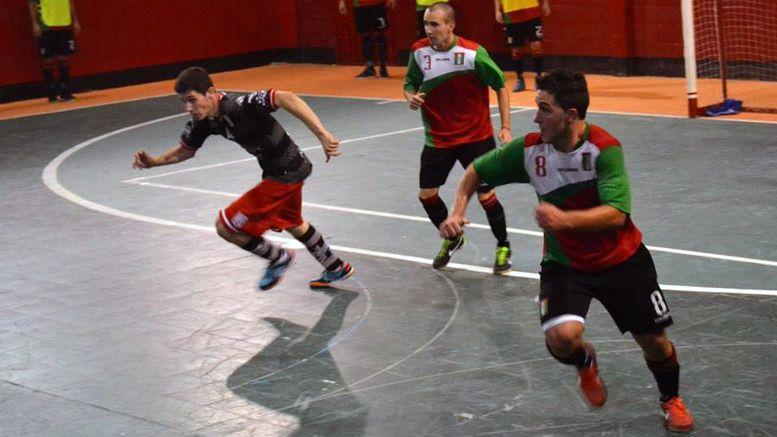 Maxi Perez club parque futsal