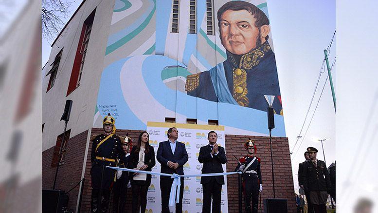 Mural San Martín