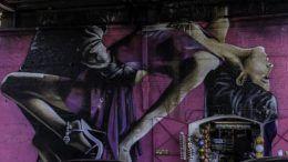 Mural del Tango de Alfredo Segatori