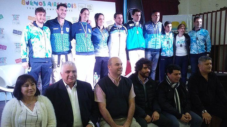 Muestra Olímpica en la Comuna 11