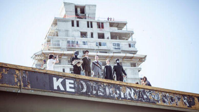 Intervención cultural sobre el Puente de Juan B. Justo y Av. Córdoba