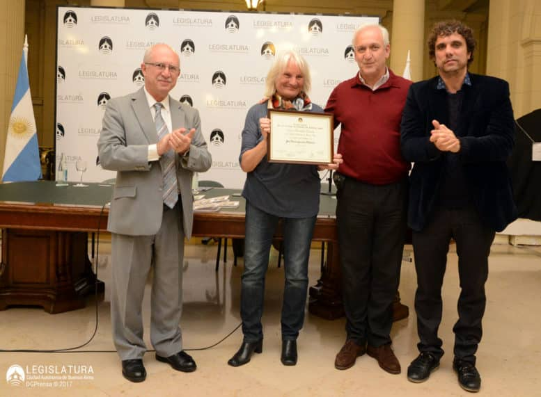 Forn, Falderini con su diploma, Fuks y Espiño