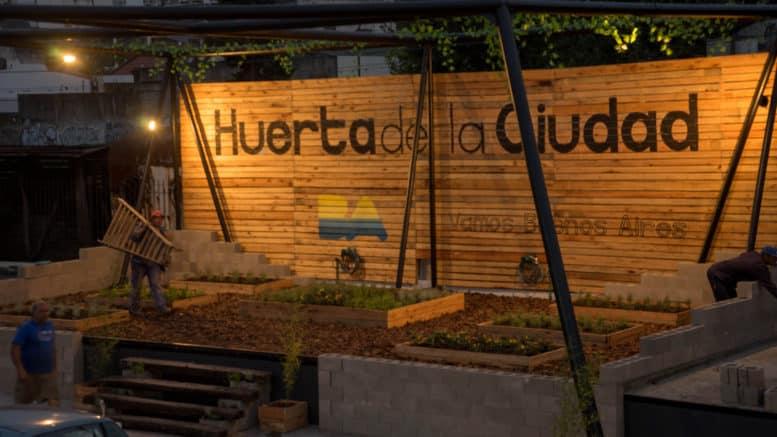 Huerta Orgánica Patio de los Lecheros