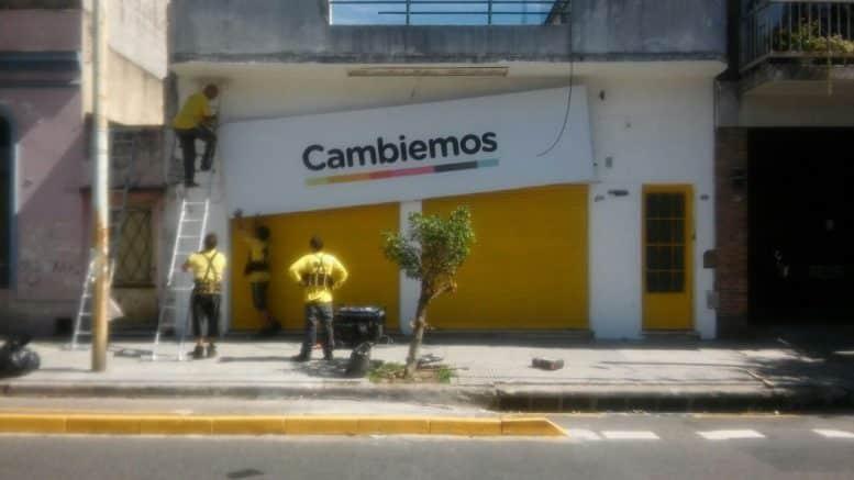 Local Cambiemos Villa Gral. Mitre