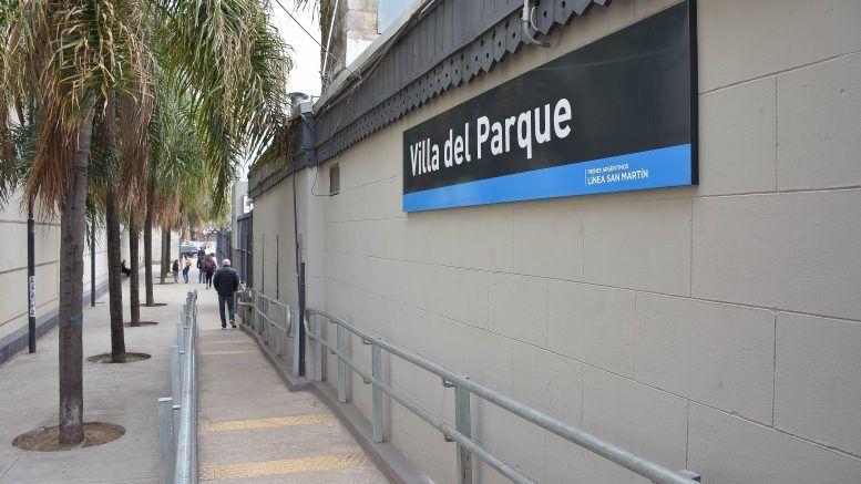 Estación San Martín Villa del Parque