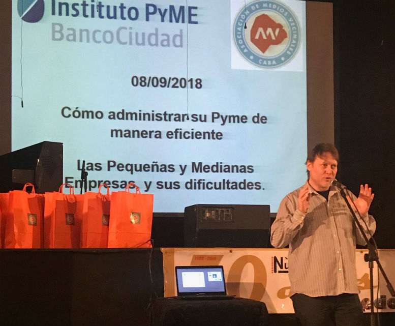 Pablo Rubin presidente de AMV.