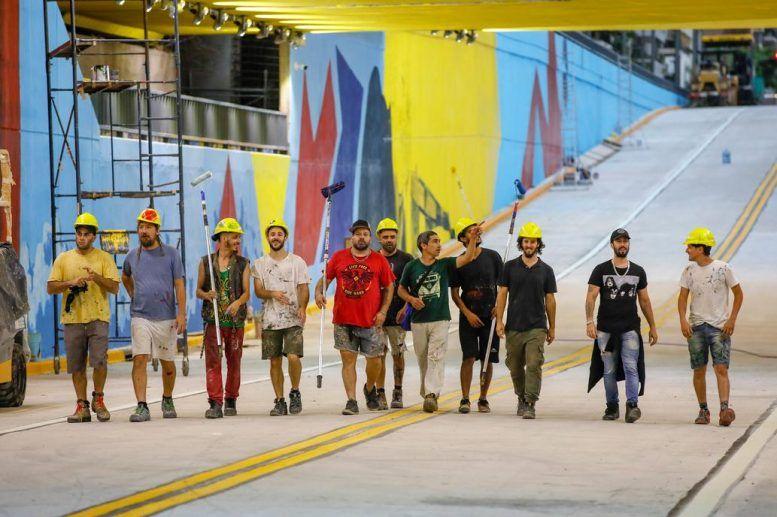 Artistas Tunel Av. Nazca