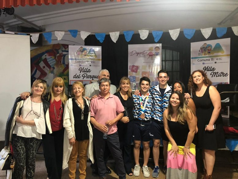 Deportistas Comuna 11