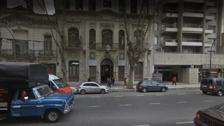 """Escuela de Comercio 25 """"Santiago de Liniers"""", Av. Corrientes 4621."""