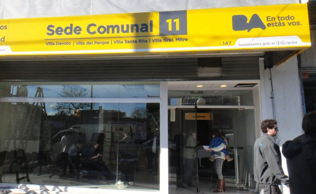 Sede Comuna 11