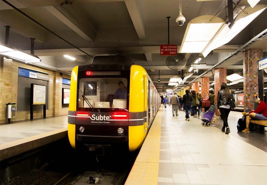 Subte Estación Retiro - Línea C