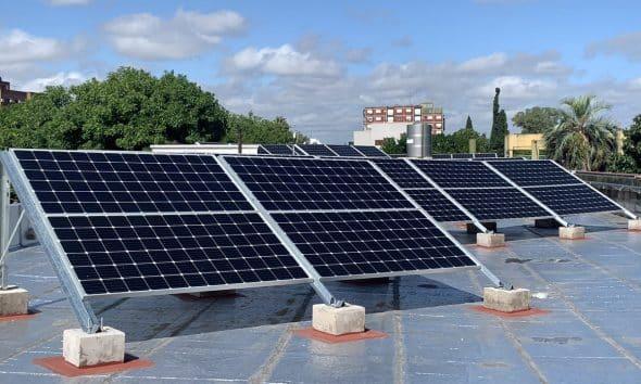 Paneles solares escuela Villa Devoto