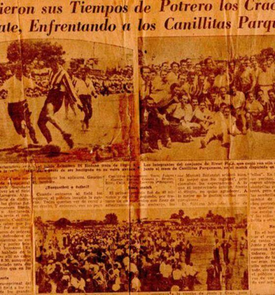 Canillitas Parquenses vs River Plate