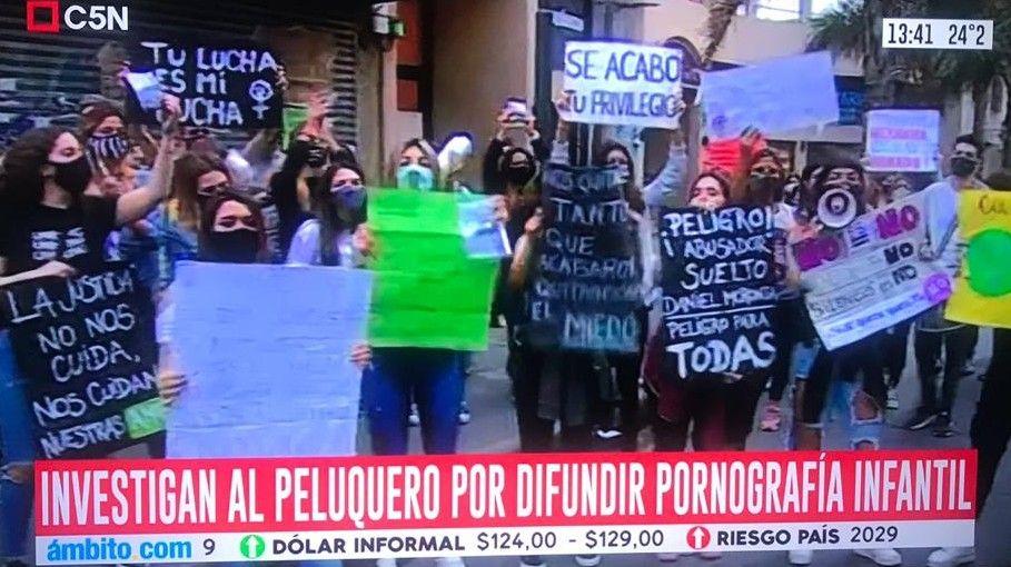 Villa Devoto Peluquero acusado de abuso