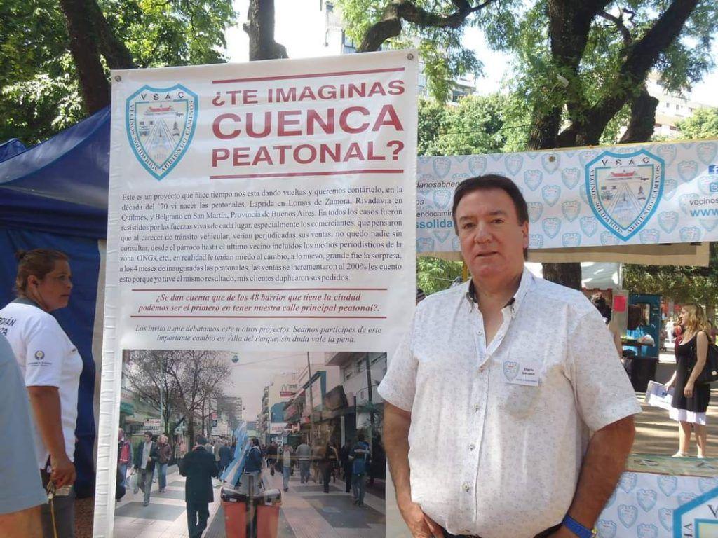 Alberto Igarzabal de Vecinos Solidarios