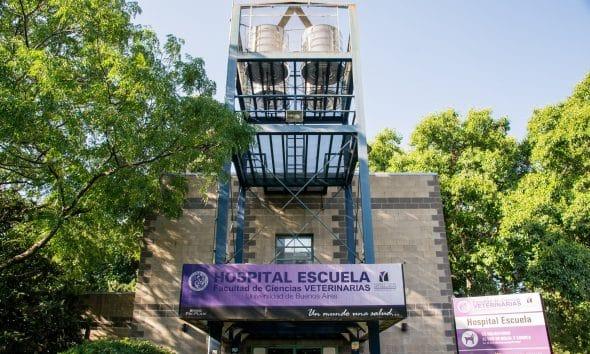Hospital escuela Veterinario Agronomía