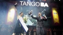Maximiliano Cristiani y Jesica Arfenoni ganadores de la categoría tango pista