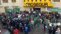 Camioneros impiden la salida en Prosegur