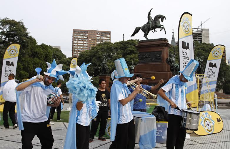 Buenos Aires empieza a palpitar el Mundial
