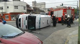 Ambulancia en Villa Santa Rita