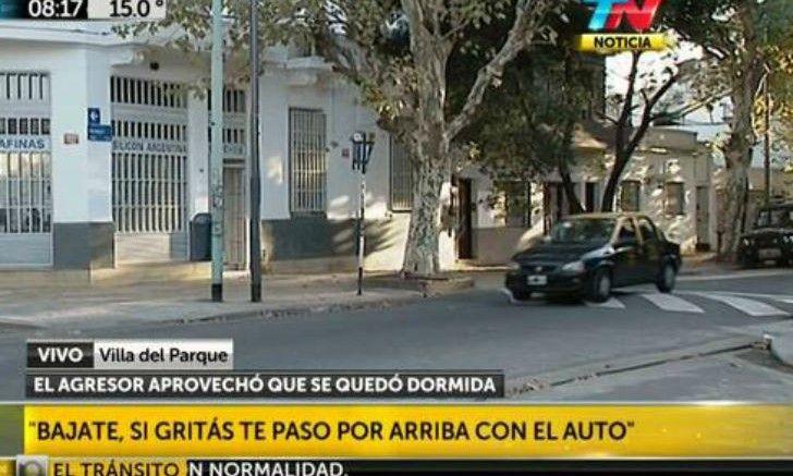 Presunto violador en villa del parque