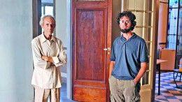 Adrián Burman y su hijo Pablo