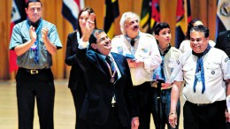 Rafael Correa en la Usina del Arte