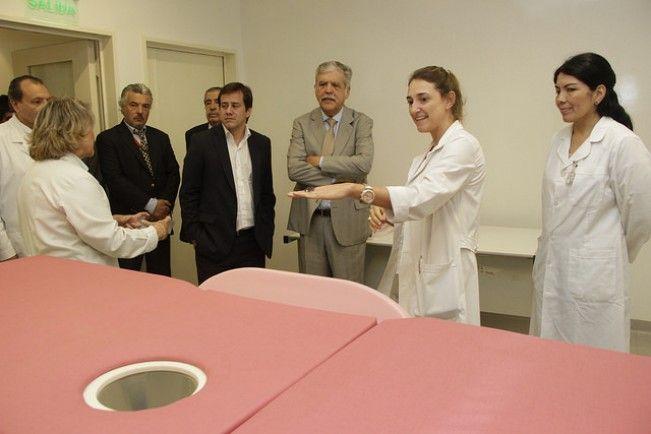 Julio De Vido y Mariano Recalde recorrieron el Instituto Roffo