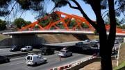 Nuevo puente en la Gral. Paz